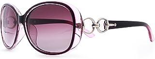 BLEVET Luxury Transparent Women's Polarized Sunglasses Retro Eyewear Oversized Square Frame Goggles Eyeglasses