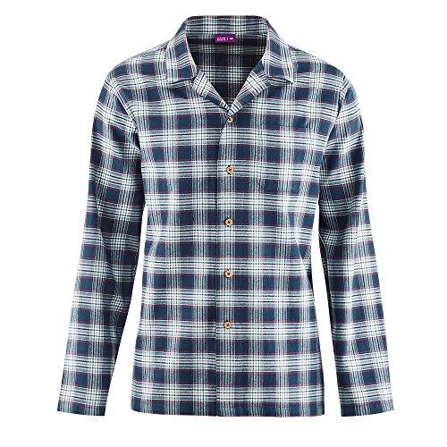 Living Crafts Flanell-Schlafanzug 56, Dark Navy/Mineral