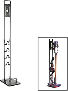 コードレスクリーナースタンド 掃除機 収納 V10 V8 V7 V6 DC58 DC59 DC62 DC74シリーズ対応 ブラック