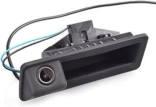 Tailgaters Black Tailgate Backup Reverse Handle with Camera for BMW X1 X3 X4 X5 F30 F31 F34 F07 F10 F11 F25 F26 E84,530I/536Li/335i/328i/335i/320i/330i/X1/520Li (A =110x40 mm)