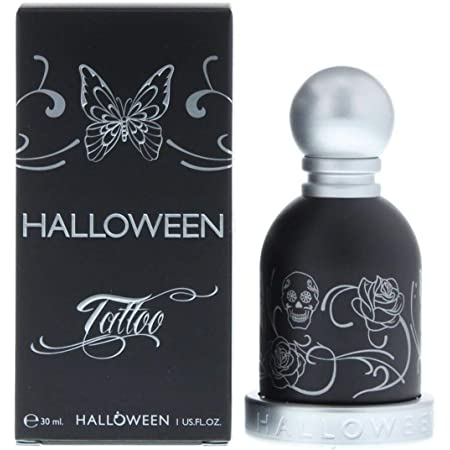 JESUS DEL POZO Halloween Tatto Eau DE Toilette 30ML VAPORIZADOR Unisex Adulto, Negro, Único