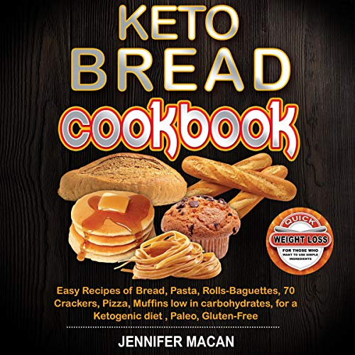 Couverture de Keto Bread Cookbook