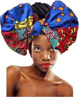 L'VOW Women' Soft Stretch Headband Long Head Wrap Scarf Turban Tie
