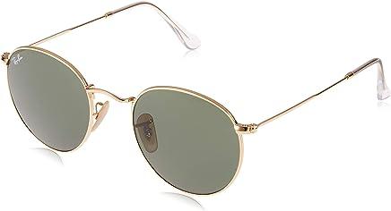 Ray Ban Erkek Güneş Gözlükleri 0RB ROUND METAL 001 50, Altın,