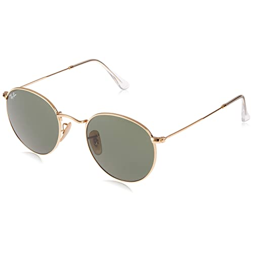 a4017be2bc2 Ray Ban 0RB3447 Round Metal Sunglasses