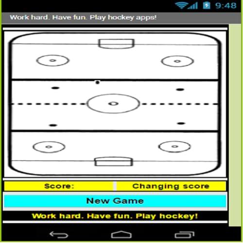 Work hard.  Play hockey.