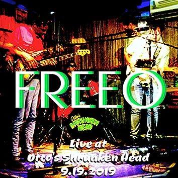 Live at Otto's Shrunken Head 9.19.2019