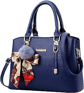 Londony New Bag 2019, Women's Top Handle Satchel Handbags Faux Leather Tote Shoulder Bag Crossbody Purse