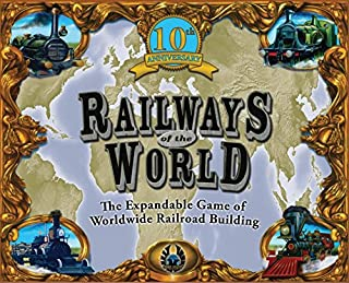 Eagle-Gryphon Games Railways of The World (10th Anniversary Edition)
