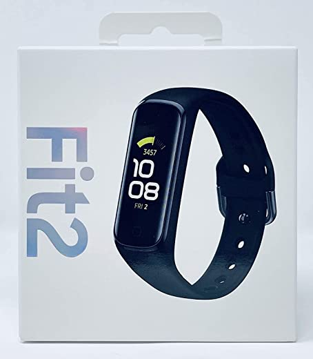 Samsung Galaxy Fit 2 Bluetooth Fitness Tracking Smart Band (Black)