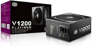 Cooler Master V1200 - Fuente de alimentación (100-240 V, 20+4 Pin ATX, 50-60 Hz, 15-7.5, Activo, ATX)