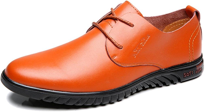 Herren Freizeit Lederschuhe Rutschfest Werkzeugschuhe Weicher Boden Formelle Kleidung Geschft Flache Schuhe EUR GRSSE 38-44