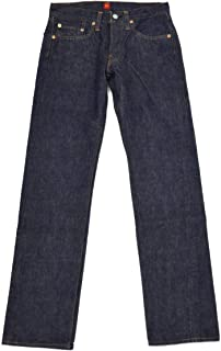 """[RESOLUTE【リゾルト】]ストレートデニム 細身 713 94""""66"""" type cotton ONE WASH ワンウォッシュインディゴ 66モデル ウエストサイズ 36"""