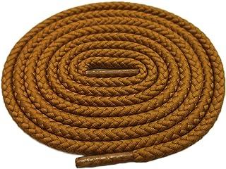 Lacet 1 Paire Rond Couleur Solide Cordon Lacets pour Sneakers Chaussures de Toile Martin Bottes Laces