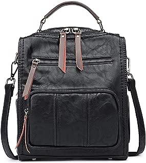 SiMYEER Women's Leather Fashion Backpack Purse Rucksack Waterproof Shoulder Bag School Casual Daypack for Ladies