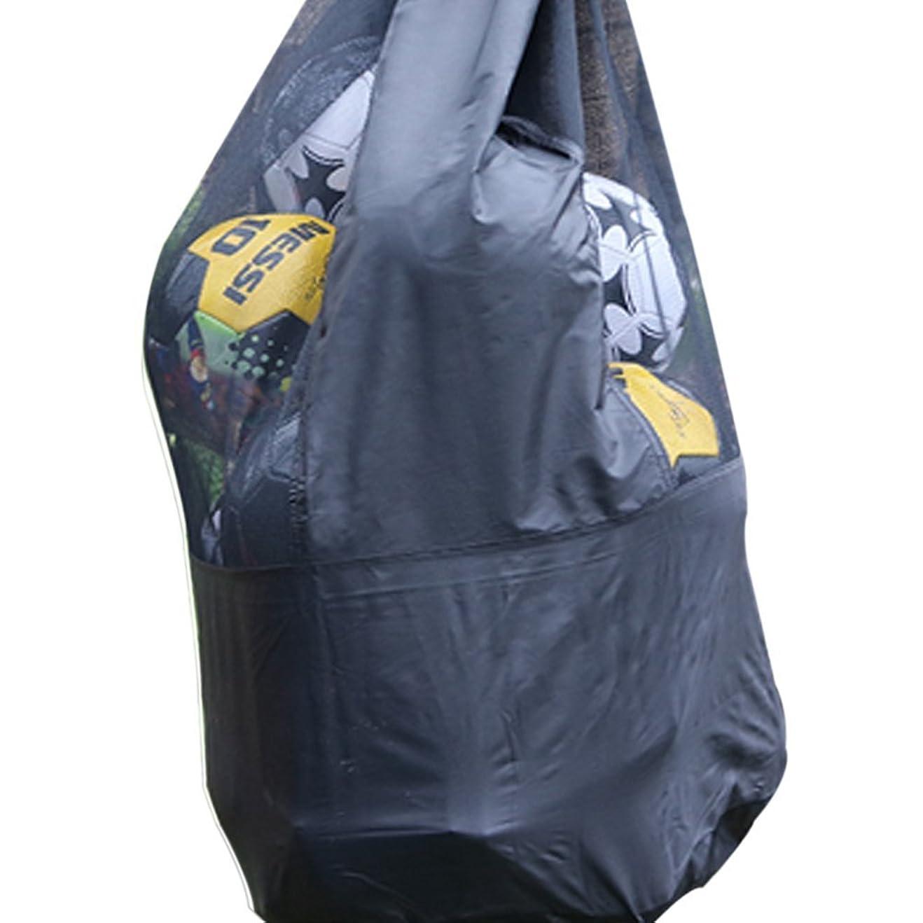ライド現実的ながらIKENOKOI バスケットボール/サッカーボールバッグ ボールケース 大容量 収納バッグ 十数個入れ 防水 肩掛け 学生 部活 練習