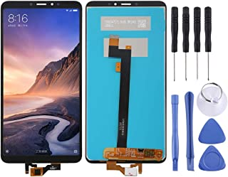WXX LCD Screen and Digitizer Full Assembly for Xiaomi Mi Max 3(Black) (Color : Black)