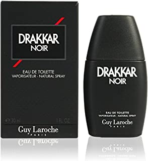 Guy Laroche Drakkar Noir for Men Eau de Toilette, 100ml Spray