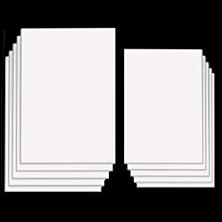30 Sheets White Sticky Foam Sheets-Foam Tapes Double Sided Adhesive Foam Sheets 3D White Dual-Adhesive Foam Sheets, 6 x 3....