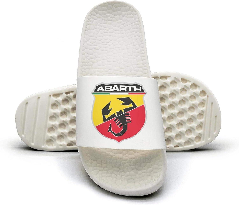 EIGKASL Printed Non-Slip Slippers Slides flip Flop Sandals Abarth-Symbol-Logo-Summer Outdoors for Womens