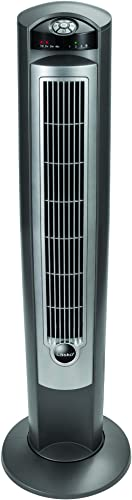"Lasko Portable Electric 42"" Oscillating Tower Fan with Nighttime Setting, Timer and Remote Control for Indoor, Bedroo..."