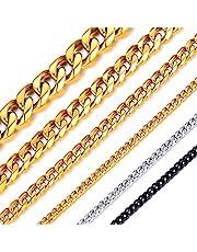 ChainsHouse 45cm 3mm 喜平 ネックレス チェーン メンズ シルバー サージカルステンレス 金属アレルギー レディース アクセサリー