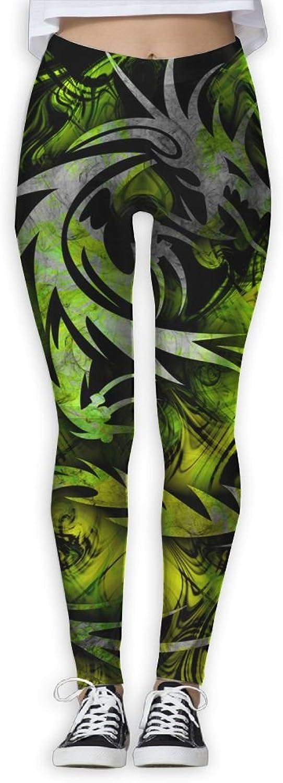 Green Dragon Women Power Flex Running Yoga Pants Workout Tights Leggings Trouser