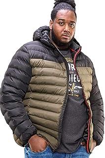 D555 Men's Kingsize Hewlett Hooded Padded Jacket