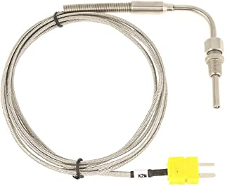 William-Lee WRP-100 K Type Thermocouple 2372℉ 1300℃ High Temperature Sensor for Ceramic Kiln Furnace Forges Smelters Crucibles