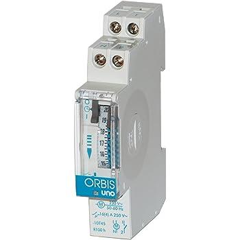 Orbis T-22 230 V Interruptor con Temporizador, OB063031: Amazon.es: Bricolaje y herramientas