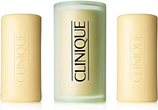 Clinique 3 Little Soaps with Travel Dish - Mild - Dry Combination