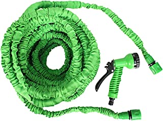 Garden Hose Expandable 7 Pattern Spray and High Pressure 3 times expanding for Plant Watering Car and motorcycle cleaning ...