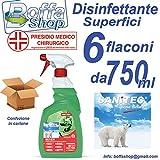 Sanitec Multiactiv Detergente Disinfettante Conf. 6 Pezzi