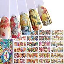 Water Transfer DIY Nail Art Decals Stickers For Women And Kids With Butterfly flower Animal Insect Beauty Girl Cartoon And Different Patterns