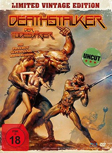 Deathstalker - Der Todesjäger - Uncut Vintage Edition (+ DVD) - Mediabook, limitiert auf 1.500 Stück, inkl. Booklet, HD neu abgetastet [Blu-ray]