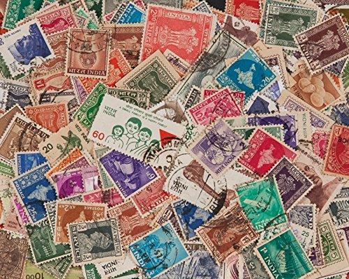 Goldhahn 200 Indien Briefmarken für Sammler