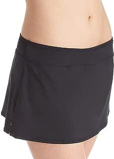 Women's Solid Skirted Bikini Bottom