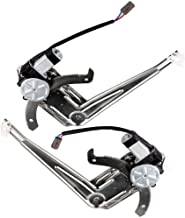OCPTY Power Window Regulator with Motor Assembly Replacement Front Side a Pair Set Window Regulator fit for 1993-2011 Ford Ranger