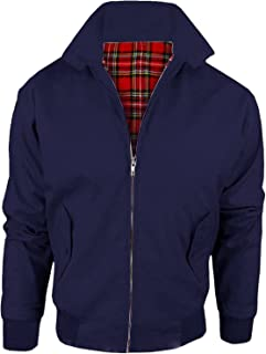 MyShoeStore Harrington Jacket Adults Unisex Mens Ladies Womens Vintage Classic Retro Scooter 1970'S Bomber MOD Skin Tartan...