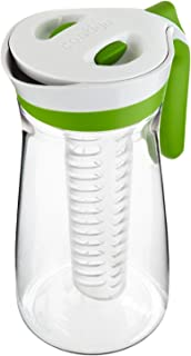 Contigo AUTOSEAL Pitcher Set with Infuser Stick and Ice Core, 72-Ounce…