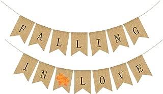Best falling in love burlap banner Reviews