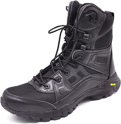 ZFLIN Senderismo schuhe suela de goma antideslizante impermeable transpirable Stiefel militares Stiefel de combate schuhe para caminar-41