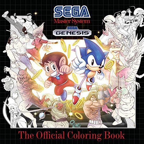 Price comparison product image SEGA: The Official Coloring Book