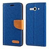 Alcatel One Touch Pop C9 7047D Case, Oxford Leather Wallet