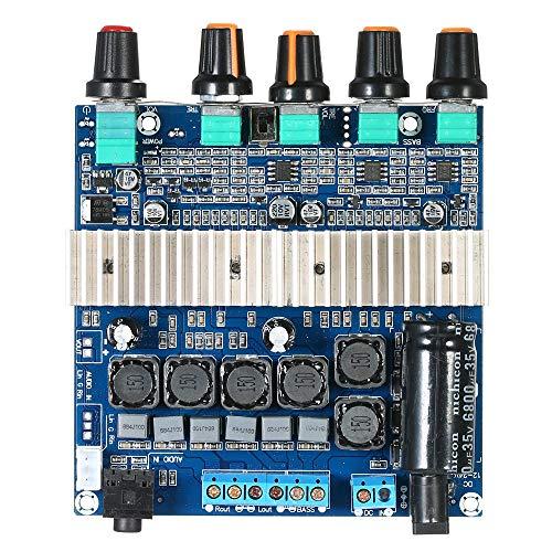KKmoon Subwoofer Digitale Verstärkerplatine Stereo Audio Modul (DC12V ~ 24 V TPA3116D2) mit Volume Potentiometer 2 * 50 Watt + 100 Watt