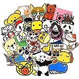 Graffiti Aufkleber für Auto, Laptop, Skateboard, Gepäck, wasserfestes Vinyl Aufkleber für Motorrad, Fahrrad, Bumper 50 Pcs Animal Style 2.5-4.5 inch