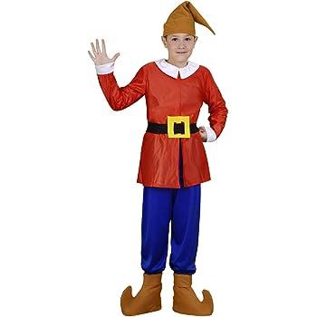 Disfraz de Enanito Rojo Infantil (7-9 años): Amazon.es: Juguetes y ...