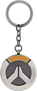 JINX Overwatch Logo Metal Key Chain, Metallic, One Size