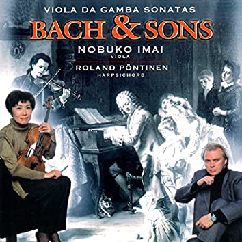 Bach & Sons - Bach, J.S. Viola da Gamba Sonatas Nos. 1-3 / Bach, W.F.: Viola Sonata in C Minor / Bach, C.P.E.: Viola da Gamba Sonata in G Minor