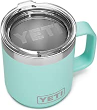 YETI Rambler 10 oz Stackable Mug, Stainless Steel, Vacuum Insulated with Standard Lid